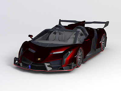 蘭博基尼2014款跑車模型