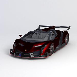 兰博基尼2014款跑车模型