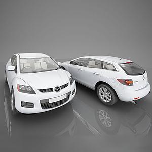 3d现代马自达小<font class='myIsRed'>汽车</font>模型