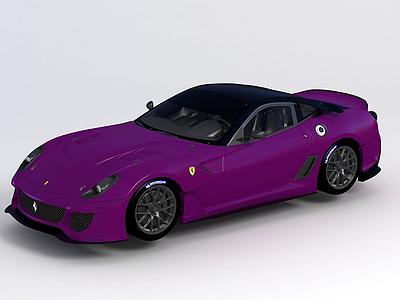 法拉利Ferrari599跑車模型