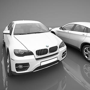 3d现代宝马小汽车模型