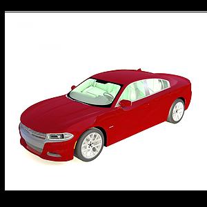 3d?道奇戰馬<font class='myIsRed'>汽車</font>2015款模型
