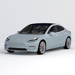 特斯拉 Model 3模型