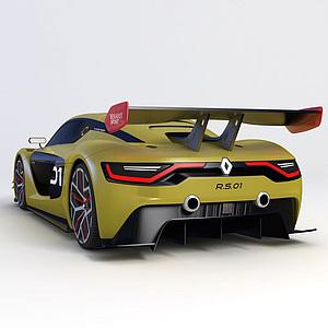 ?雷诺Sport RS  2015款模型