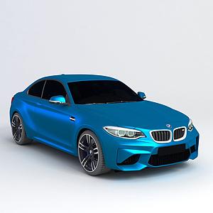 3d宝马M2 2016款模型