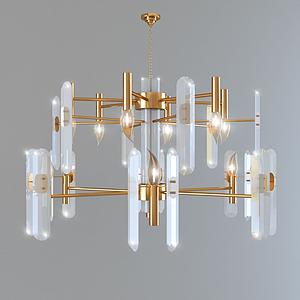 3d水晶吊灯模型
