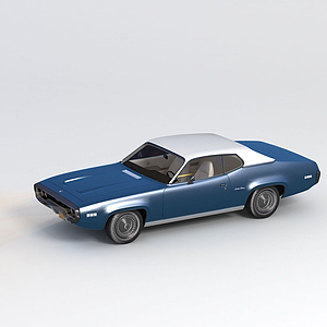 3d?普利茅斯 1971款<font class='myIsRed'>汽車</font>模型