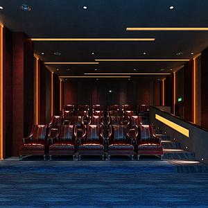 3d<font class='myIsRed'>电影院</font>座椅模型