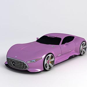 梅賽德斯奔馳遠景大賽車模型