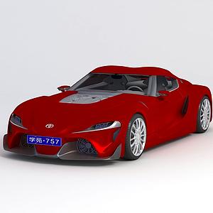 3d?豐田FT-1 2014款模型