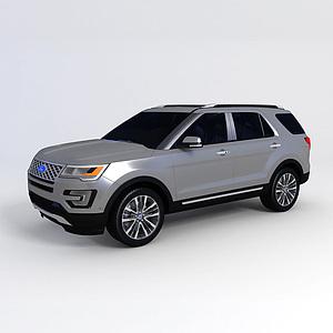 3d福特探險者 2016款模型