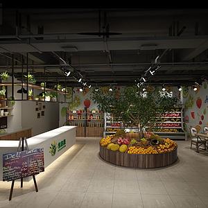 水果店水果超市模型