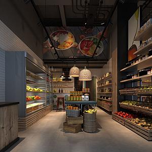 果蔬超市模型
