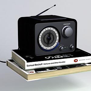 老式收音機模型