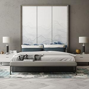 家具饰品组合3d模型
