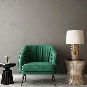 3d家具饰品组合模型
