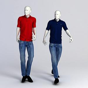 3d模特人物模型