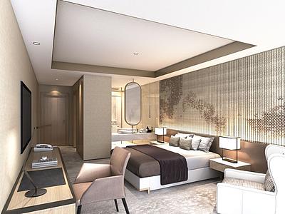 酒店客房模型3d模型