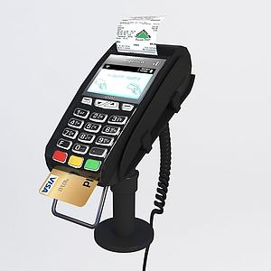 刷卡機模型