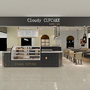 蛋糕店模型