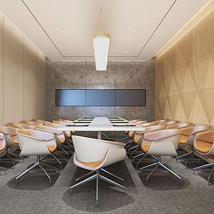 环球会议室3d模型