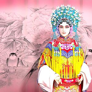 京劇模特模型