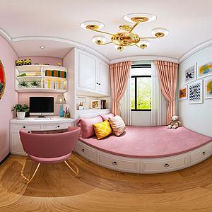客廳臥室模型