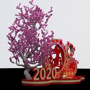 新年商展模型