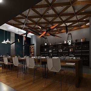 團建餐廳模型