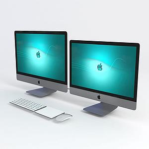 3d<font class='myIsRed'>电脑</font>显示器模型
