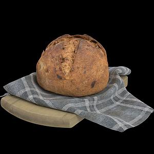臟臟面包模型