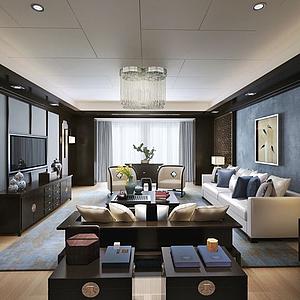 客厅空间3d模型