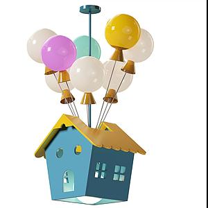 儿童房吊灯模型