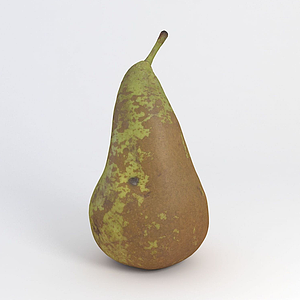 水果梨模型