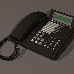 3d老式<font class='myIsRed'>電話</font>模型