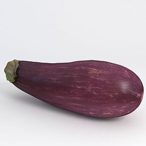 蔬菜茄子模型