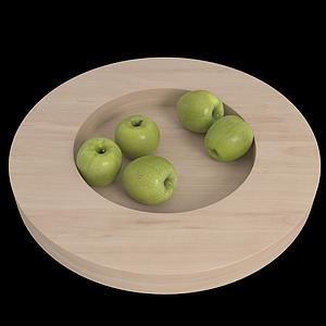 3d蘋果模型