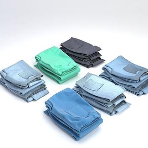 3d褲子模型