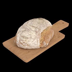 面包面團模型