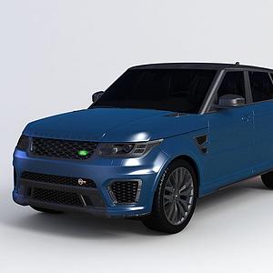 3d路虎SUV<font class='myIsRed'>汽車</font>模型