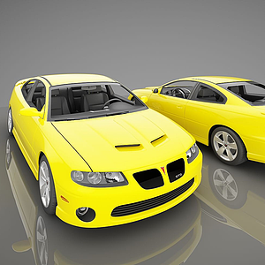 3d現代小<font class='myIsRed'>汽車</font>模型
