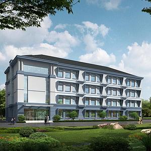 3d建筑教學樓學校模型
