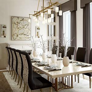 餐厅空间模型