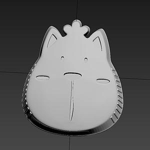 小熊餅干模具模型