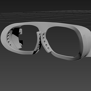 3d治疗<font class='myIsRed'>眼镜</font>模型