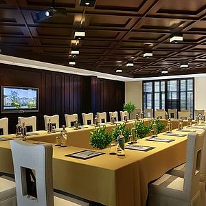 3d餐厅空间9模型