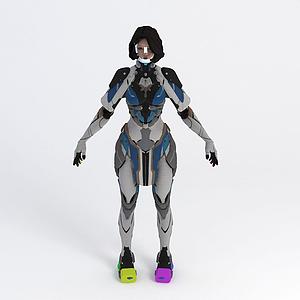 3d游戏角色模型