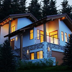 3d民宿建筑模型