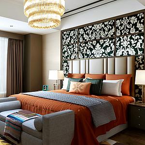 臥室空間模型