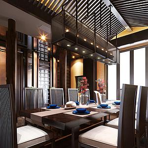 餐廳空間模型